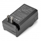 AC Digital Battery Charger for Canon LP-E6 - Black (AC 100~240V / 2-Flat-Pin Plug)