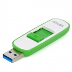 Lexar S73 retráctil USB 3.0 Flash Drive - Verde + Blanco (64 GB)