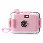 Lomo 35mm Film Camera with Waterproof Case - Pink