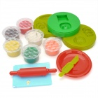 Delicious Look Bread DIY Super Modeling Fun Mud Toy - Multi-Color