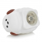 3072 Cute Children Bathing Funny LED Flashing Sheep Toy - White (1 x LR616)