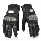 PRO-BIKER MCS-01L Full-Fingers Motorcycle Racing Gloves - Black (Pair / Size L)