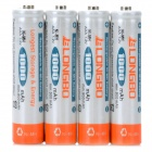 "LongBo 1.2V ""1000mAh"" AAA Rechargeable NiMH Battery (4 PCS)"