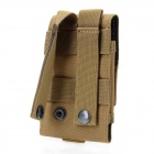 Fashionable Waterproof Fabrics Mobile Phone Carrying Bag / Pouch - Light Olive