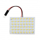T10 / BA9S / Festoon 4.8W 336lm 48-SMD 1210 LED White Light Car Reading Lamp