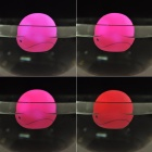 2049 Cute Children Bathing Funny LED Flashing Whale Toy - Deep Pink (1 x LR616)