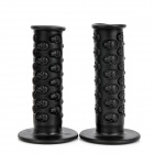 Comfortable Motorcycle Refitting Non-Slip Latex Handle Grips - Black (2 PCS)