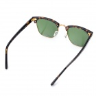 OREKA WG010 UV400 Protection Optical Lens Sunglasses - Dark Green
