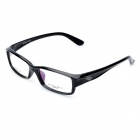SANHE TR90 Stylish Plastic Lens Glasses - Black