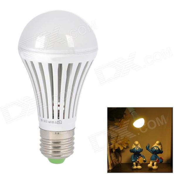 E27 5W 420LM 3500K Warm White 18-SMD 2835 LED Light Bulb - White (100~240V)