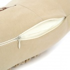 Stylish Vehicle Car Seat Head Neck Rest Cushion Pillow - Beige