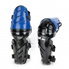 AMT-YW058 Motorcycle Sports Knee Pad Guard - Blue + Black (Pair)