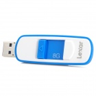 Lexar S73 Detachable USB 3.0 Flash Drive - Blue + White (8GB)