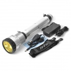 SDT-06 Rechargeable 65W HID 6500lm 3-Mode Cool White Flashlight - Silver