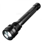 SDT-01 Rechargeable 85W HID 8500lm 3-Mode Cool White Flashlight - Black
