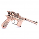 Copperish Vintage Pistol Shaped Butane Lighter