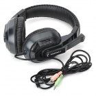CANIEEN CT-770 Stereo Headset Headphone with Microphone - Black (3.5mm-Jack)