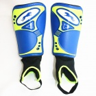 Panther SG-A2008 Outdoor Sports Leg Shin Guard Protector - Blue (Pair)