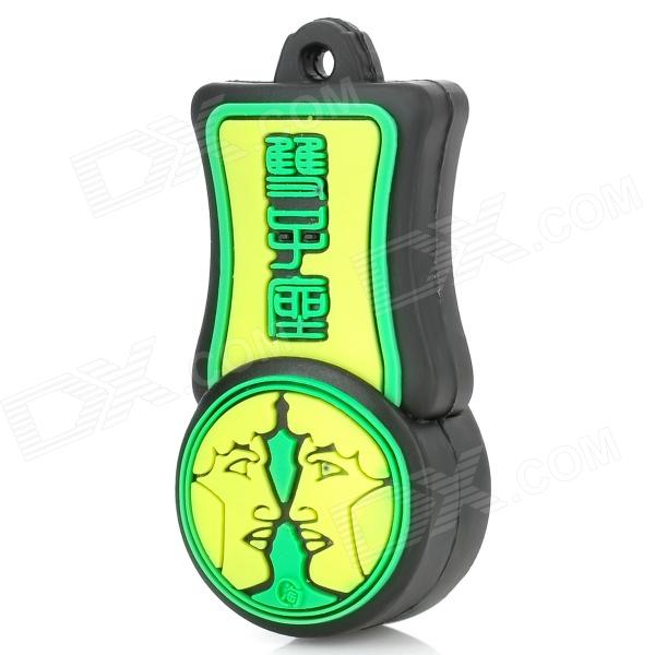 Gemini of Constellations Style USB Flash Drive - Yellow + Green (8GB)