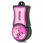 Virgo of Constellations Style USB 2.0 Flash Drive - Pink + Purple + Black (8GB)