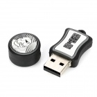 Leo of Constellations Style USB 2.0 Flash Drive - Grey + Black (8GB)