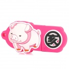 Pig of Chinese Zodiac Style USB 2.0 Flash Drive - Pink + White (8GB)