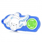 Rabbit of Chinese Zodiac Style USB 2.0 Flash Drive - Blue + White (8GB)