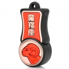 Capricorn of Constellations Style USB 2.0 Flash Drive - Red + Pink + Black (8GB)