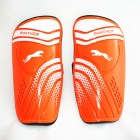 Panther SG-B2210 Outdoor Sports Leg Shin Guard Protector - Orange (Pair)