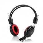 Cosonic CT-779 Stereo Headset Headphones w/ Microphone + Volume Control - Black (220cm-Cable)