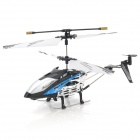 Rechargeable 2.5-CH IR Remote Controlled R/C Helicopter - Blue + Black + Silver