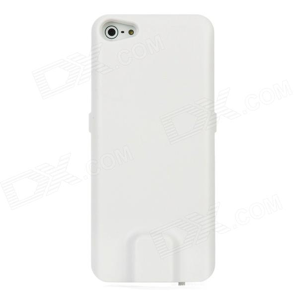 Portable External 2800mAh Power Battery Charger for Iphone 5 - White