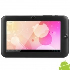 "MS-717 7"" Capacitive Screen Android 4.0 Tablet PC w/ TF / Wi-Fi / Camera / G-Sensor - Black"