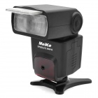 Meike MK-410N 3W 5600K TTL Flash Speedlite for Nikon D90 / D800 + More - Black (4 x AA)