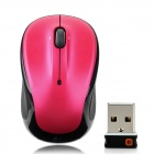 Logitech M325 2.4GHz 1000dpi Wireless Optical Mouse - Black + Deep Pink (1 x AA)