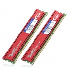 Team TLD38G1600HC9DC01 240-Pin DDR3 1600 8GB(2x4GB) RAM Memory for Desktop PC - Red (2 PCS)