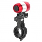 FLY WOLF KNIGHT TQ-767 Bike Bicycle 2-Mode 6-LED White Light Lamp - Red