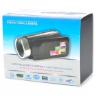 HD-55E 2.7&quot; TFT CMOS 16MP Interpolation Digital Camcorder w/ 16X Digital Zoom - Black