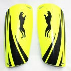 Panther SG-B1247 Outdoor Sports Leg Shin Guard Protector - Yellow (Pair)