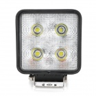 HYL-0440 40W 2200lm White Light Vehicle Lamp - Black