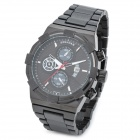 SPEATAK 9006G-4 Stylish Quartz Wrist Watch w/ Calendar Display - Black (1 x CR026)