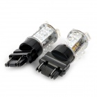 3157 1W 9-LED Red Light Car Brake Lamp w/ Constant Voltage IC Contact (12~17V / 2 PCS)