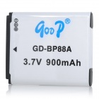 "GODP GD-BP88A Replacement 3.7V ""900mAh"" Li-ion Battery for Samsung DV200 / DV300 - White"