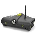 Iphone / Ipad Control Wi-Fi Tank w/ 300KP Camera / Night Vision / Microphone - Black (6 x AA)