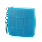 uWinKa MC-U6B ABS CF / SD Memory Card Case with Keychain - Blue