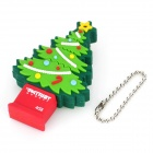Patriot Memory Christmas Tree Style USB 2.0 Flash Drive - Green + Red (4GB)