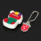 Patriot Memory Christmas Stocking USB 2.0 Flash Drive - Red + Green + White (16GB)