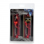 G.SKILL F3-12800CL10D-16GBXL RipjawsX DDR3 1600 16G(2 x 8GB) RAM Memory for Desktop PC - Red (2 PCS)