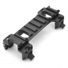 Tactical 22mm Aluminum Alloy G3 / MP5 Gun Rail Mount - Black