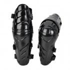 AMT-YW058 Motorcycle Sports Knee Pad Guard - Black (Pair)